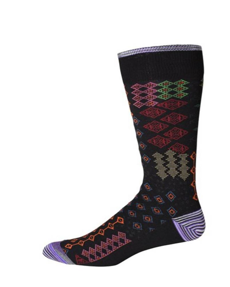 Robert Graham Robert Graham XL Black Belden Socks