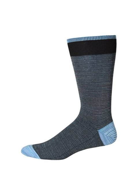 Robert Graham Robert Graham XL Black Tombra Socks