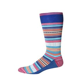 Robert Graham XL Blue Tiller Socks