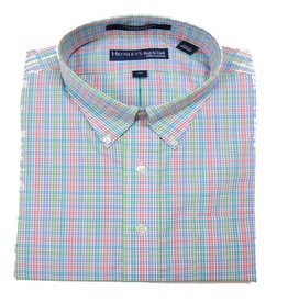 Hensley Hensley's LS Wrinkle Free Lime Check