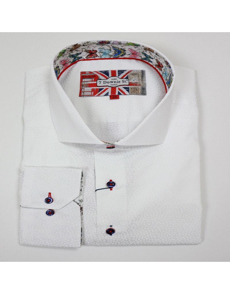 Eros Clothing LS White Tonal Shirt