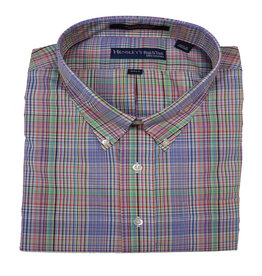 Hensley's Hensley's LS Wrinkle Free Multi Micro Plaid