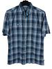 Kuhl SS Blue Plaid Shirt