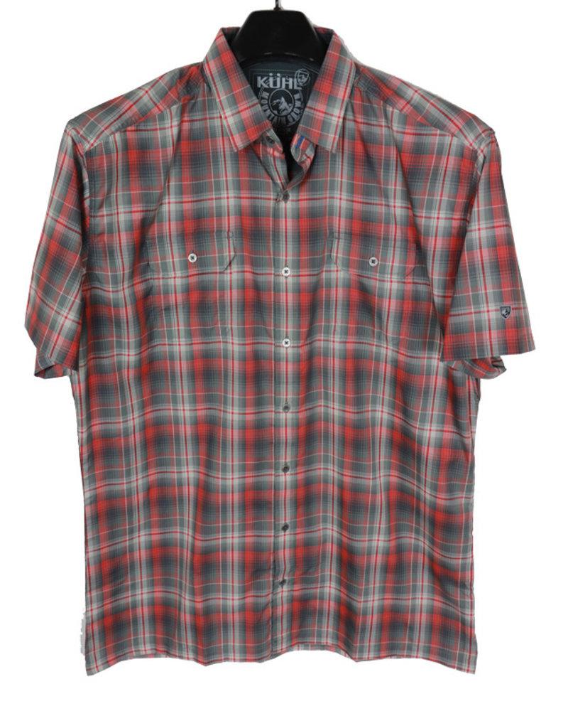 Kuhl SS Rust Plaid Shirt