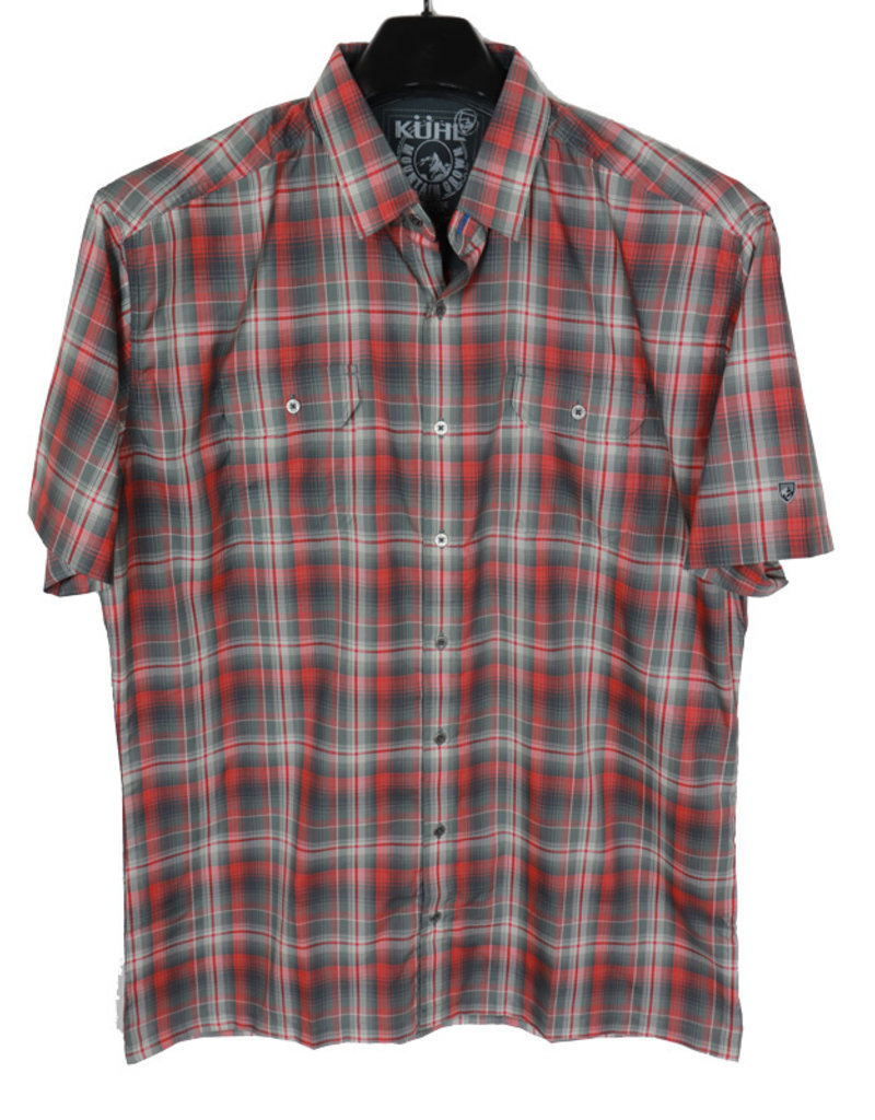 Kuhl SS Rust Plaid Shirt