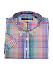 Hensley's Hensley's SS Cool Max Perform Multi Plaid