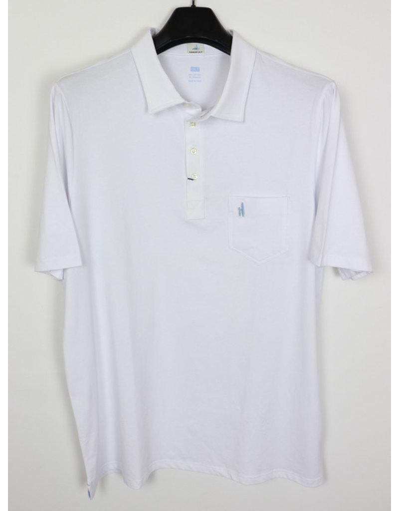 """johnnie-O Johnnie O """"The Original"""" White Polo"""