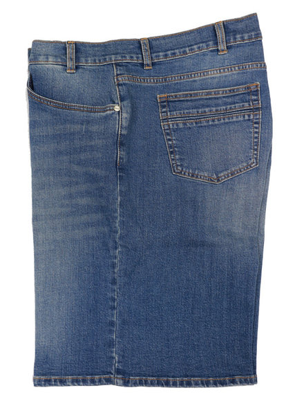 River Road Jean Grand River Distressed Jean Short
