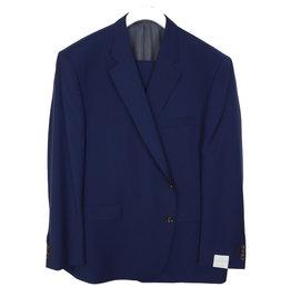 Jack Victor Solid Cadet Blue Suit