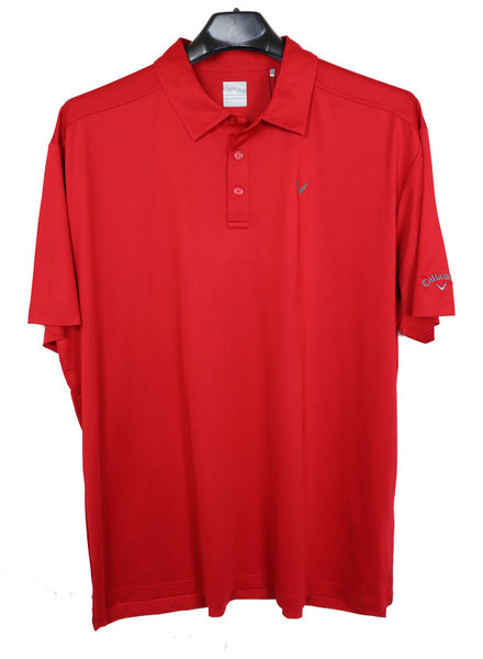 Callaway Callaway Opti-Dry Micro-Hex Solid Polo-TR