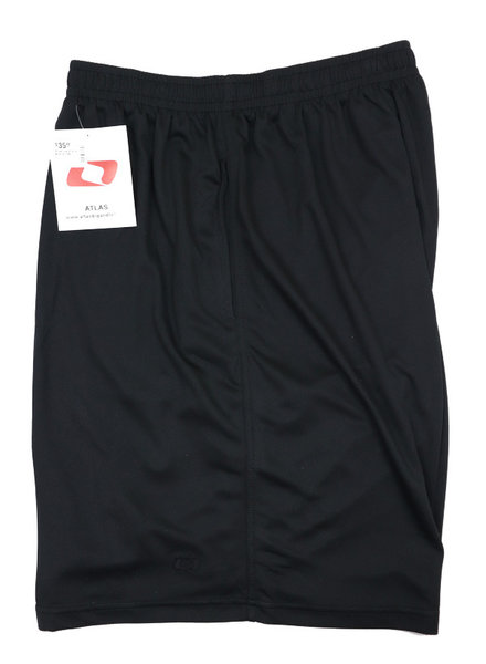 Atlas Black Jog Shorts