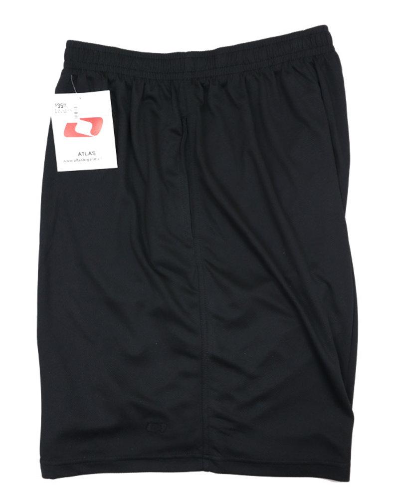 Atlas Black Jog Shorts