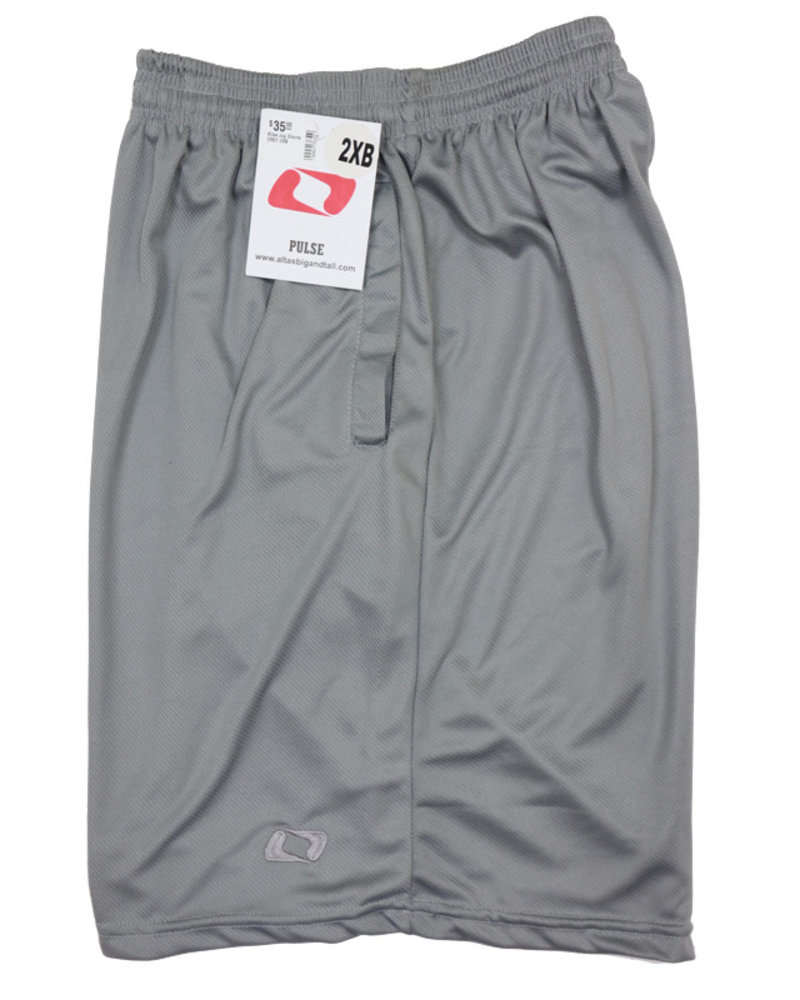 Atlas Grey Jog Shorts