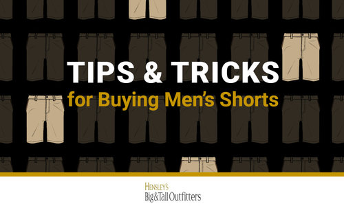 Big and Tall Shorts Style Guide