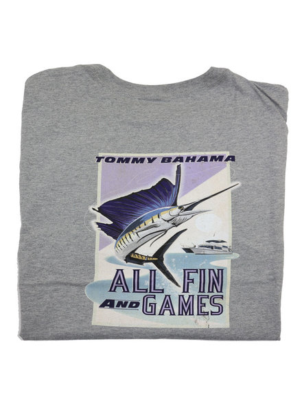 Tommy Bahama Tommy Bahama All Fin and Games Tee