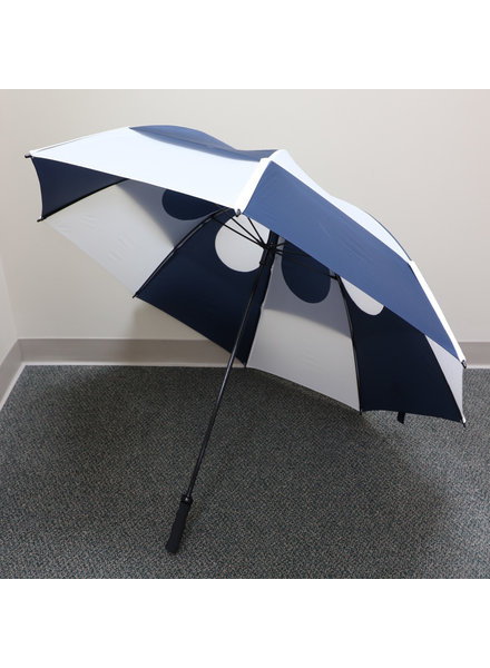 "Gustbuster 62"" Navy/White Pro Series Golf Umbrella"