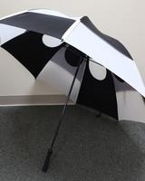 "Gustbuster 62"" Black/White Pro Series Golf Umbrella"