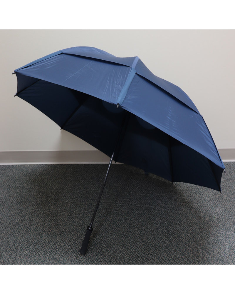 "Gustbuster 62"" Navy Pro Series Golf Umbrella"
