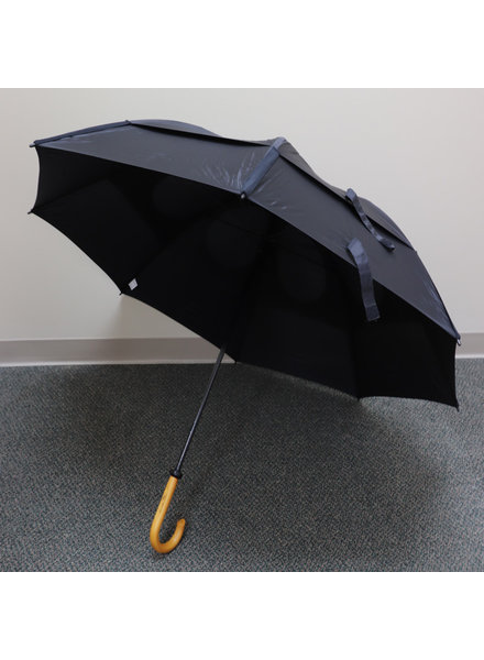 "Gustbuster 62"" Black Doorman Umbrella"
