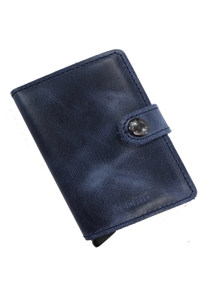 Secrid Vintage Blue Mini Wallet