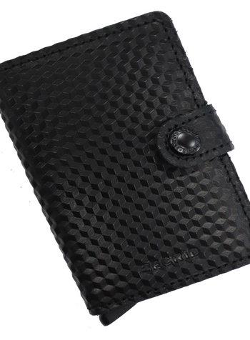 Secrid Cubic Black Mini Wallet