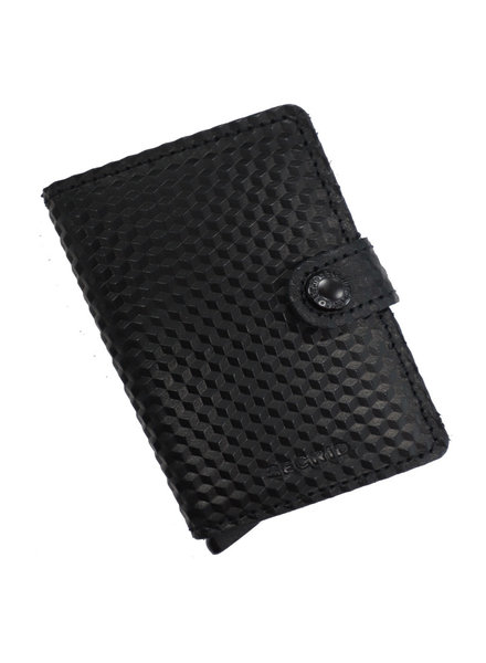 Secrid Cubic Black Mini Wallet