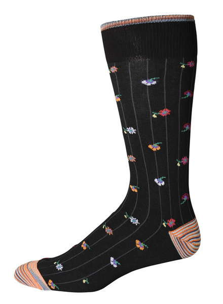 Robert Graham Robert Graham XL Black Orson Socks
