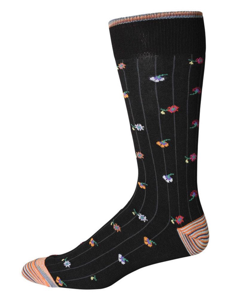 Robert Graham Robert Graham XL Black Orson Socks