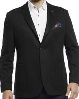 Luchiano Visconti Luchiano Visconti Black Knit Sportcoat