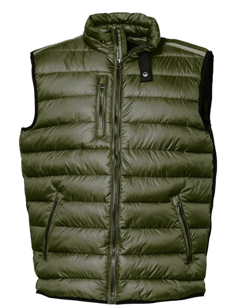 All Size North 56*4 Dk Green Puffer Vest