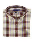 Hensley's Hensley's LS BD Twill Multi Plaid Shirt