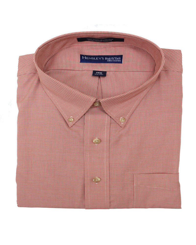 Hensley's Hensley's LS BD Twill Mini Houndstooth-CR