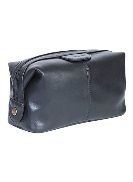 Scully Scully Tashi Black Leather Shave Kit