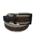 Torino Leather Torino Leather Mini Strand Braid Belt-K/C