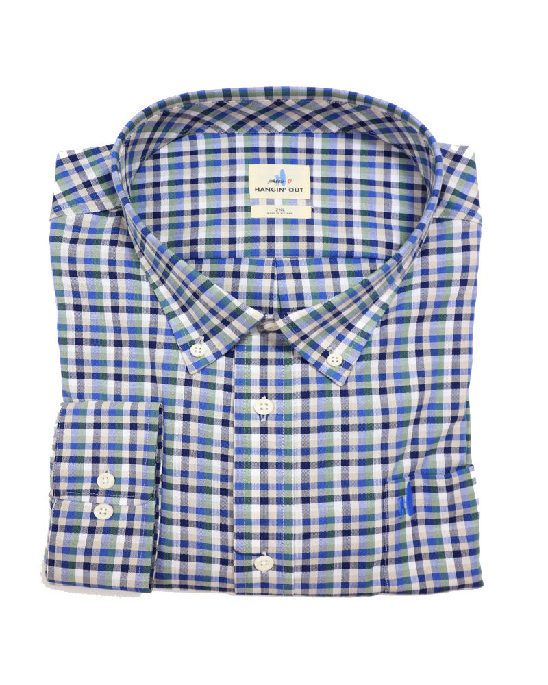 johnnie-O Johnnie O LS Yellowstone Shirt