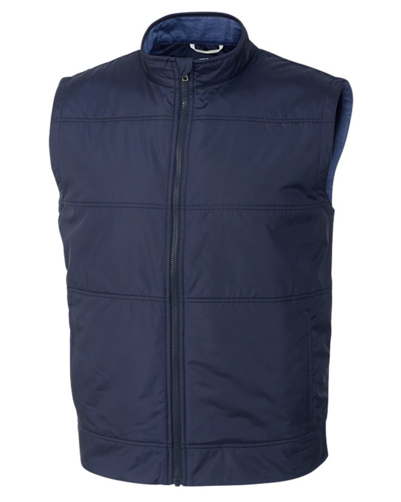 Cutter & Buck Cutter & Buck Navy Stealth Full Zip Vest