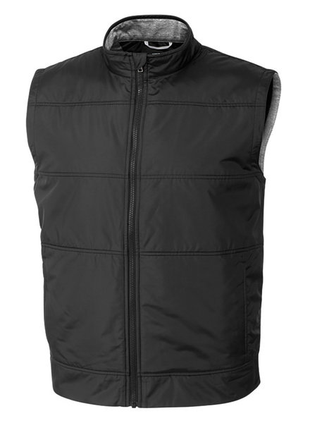 Cutter & Buck Cutter & Buck Black Stealth Full Zip Vest