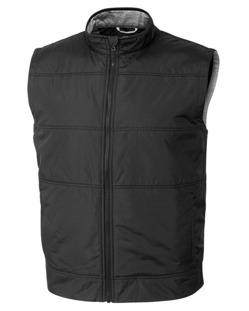 Cutter & Buck Cutter & Buck Black Stealth Full Zip Vest