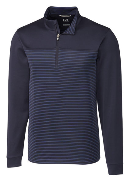 Cutter & Buck Cutter & Buck Traverse Stripe 1/2 Zip-NY