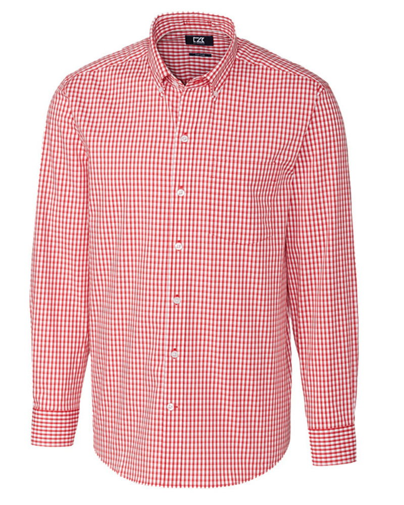 Cutter & Buck Cutter & Buck LS Stretch Gingham-CR