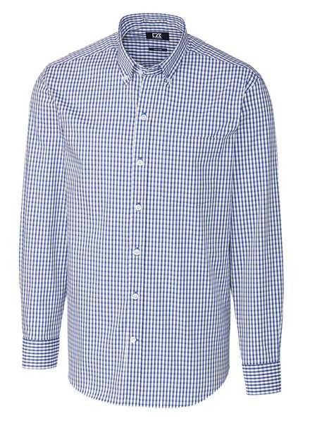 Cutter & Buck Cutter & Buck LS Stretch Gingham-TB