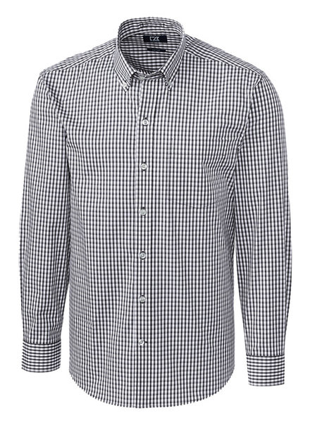 Cutter & Buck Cutter & Buck LS Stretch Gingham-CG