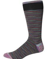 Robert Graham Robert Graham XL Black Kerrigan Socks