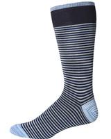 Robert Graham Robert Graham XL Navy Kerrigan Socks