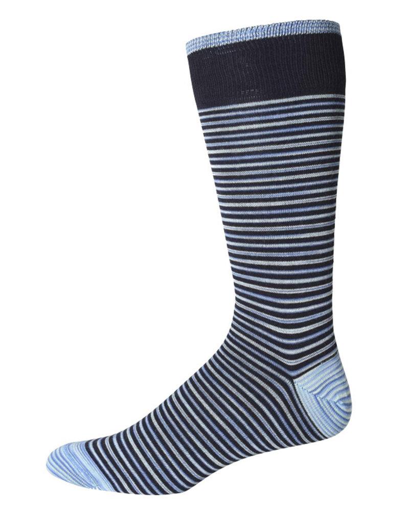 Robert Graham Robert Graham XL Navy Kerrigan Socks