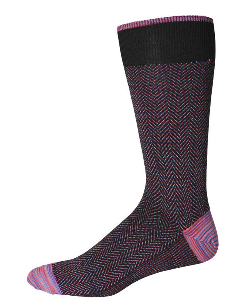 Robert Graham Robert Graham XL Black Buck  Socks