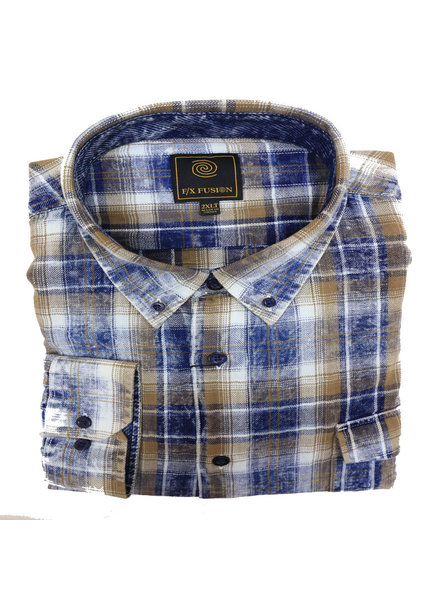 F/X Fusion F/X Fusion LS Washed Cotton Plaid-NG