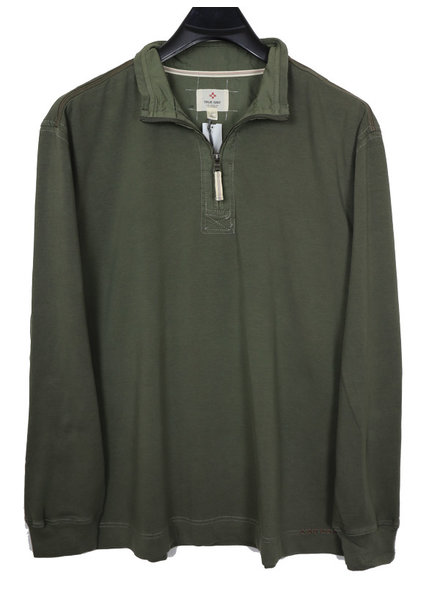 True Grit True Grit 1/4 Zip Cashmere Fleece