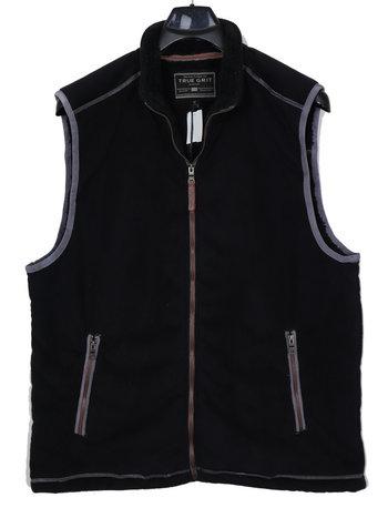 True Grit True Grit Fleece/Sherpa Zip Vest