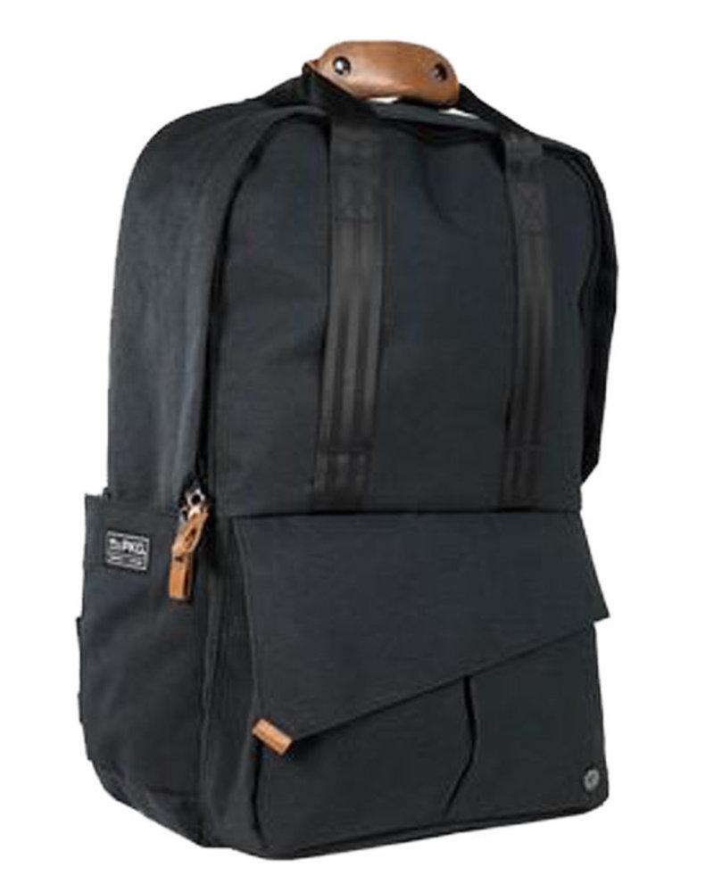 Rosseau Charcoal/Tan Backpack Bag